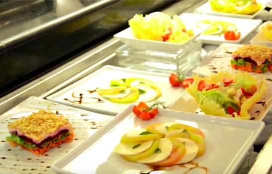 30 segundos – salada caprese